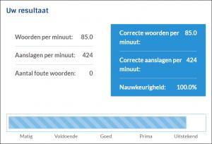 Test op Typetuin.nl